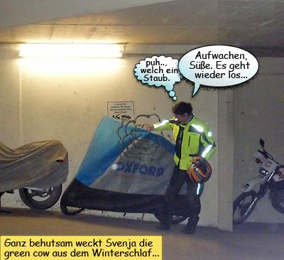 Svenjas Motorrad Saisonstart