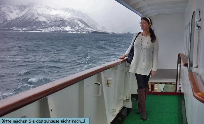 Svenja Hurtigruten Eismeerprinzessin