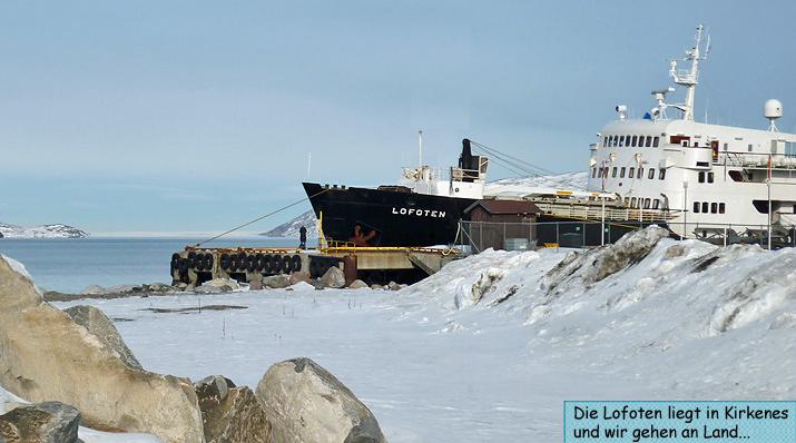 MS Lofoten Hurtigruten Kirkenes