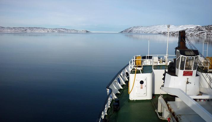 Hurtigruten Eismeer