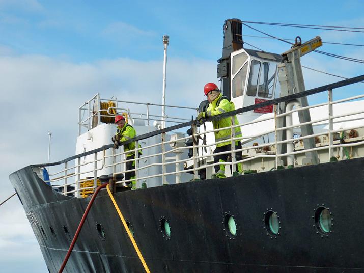 Hurtigruten Seeleute