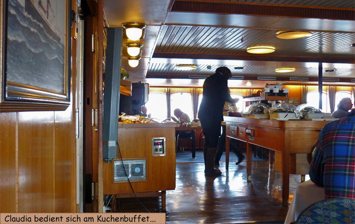 Hurtigruten Essen Buffet