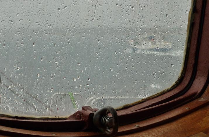 Hurtigruten Regen